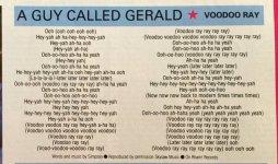 a guy called gerald voodoo ray lyrics smash hits.jpg